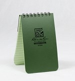 Rite in the Rain Notepad Green Small(3x5)