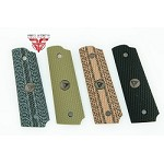 Vickers Tactical Logo Medallion 1911 Grips